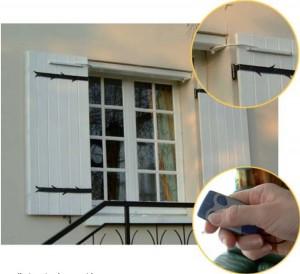 fermetures de volet et de fenêtres