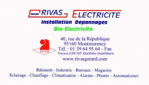 electricien en électricité de France